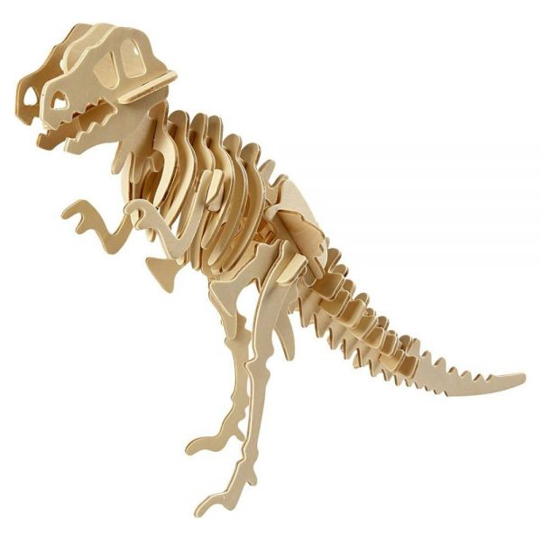 3D Holzpuzzle, Dinosaurier