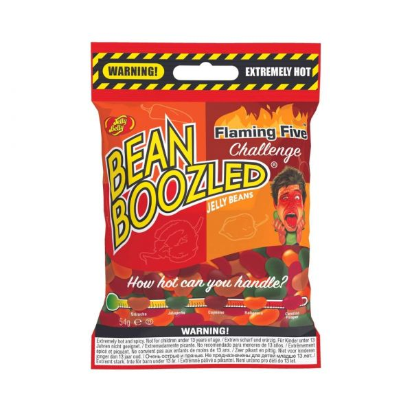 Jelly Belly Bean Boozled: Flaming Five