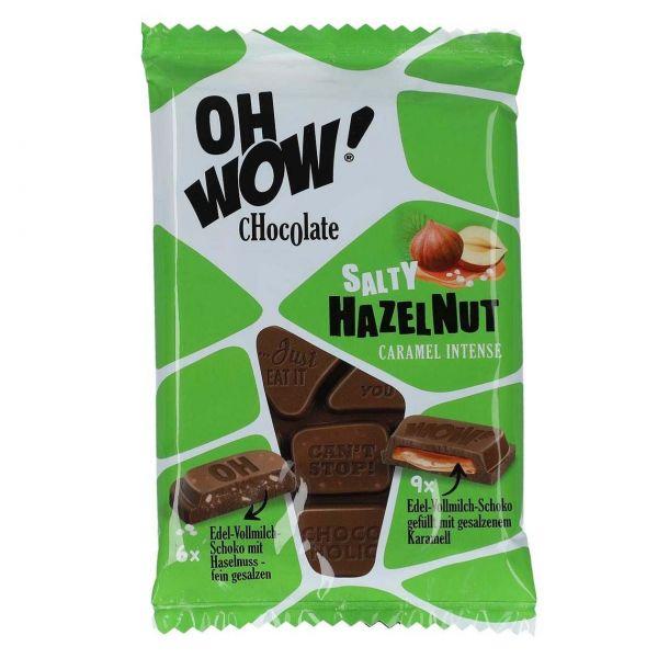 Oh WOW! Schokolade Salty Hazelnut Caramel Intense, 90 g