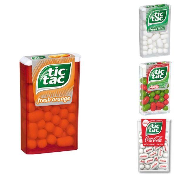 tic tac, 18 g, verschiedene Sorten