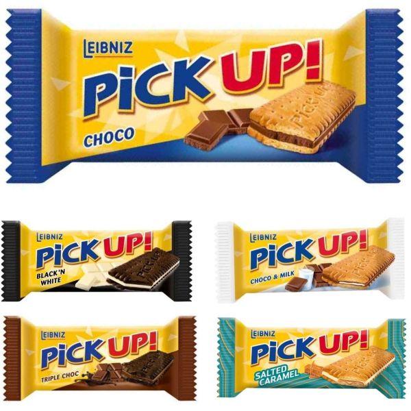 Pick up! Keks, verschiedene Sorten, 28 g