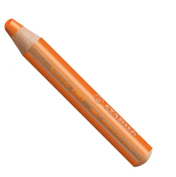 Buntstifte für Kleinkinder: Stabilo woody orange - 220