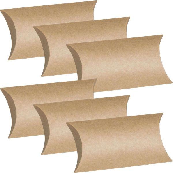 Kissenschachtel aus Karton, 6er Pack
