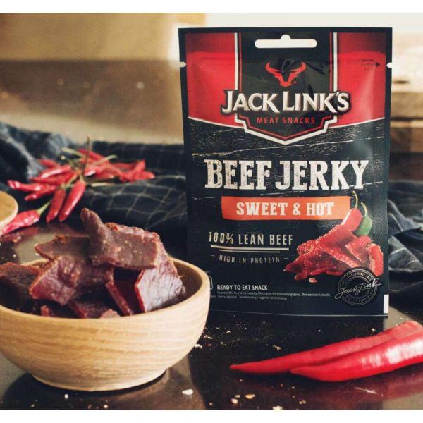 Beef Jerky Sweet & Hot, Jack Link's
