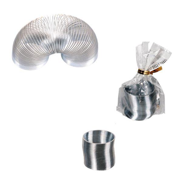 Treppenspirale Mini, silber