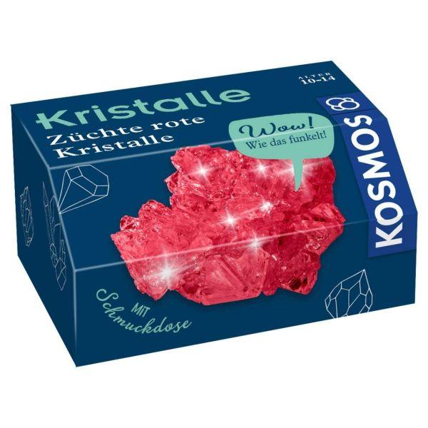 Kristalle züchten, Kosmos, rot