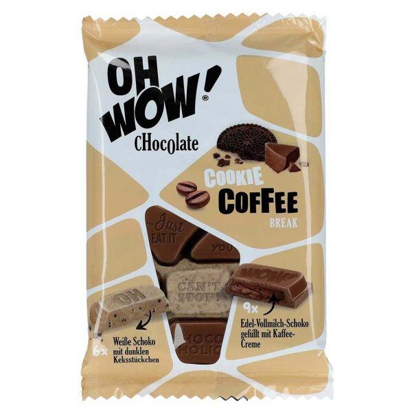 Oh WOW! Schokolade Cookie Coffee Break, 90 g
