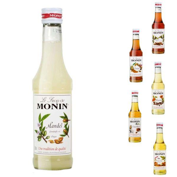 Monin Sirup, 250 ml, verschiedene Sorten