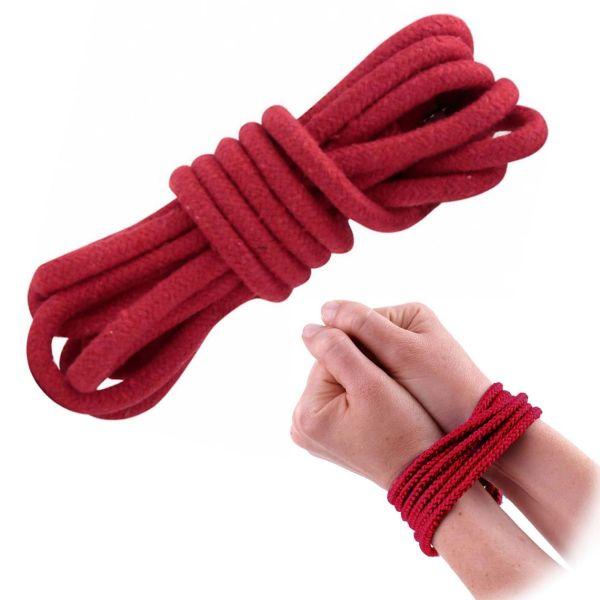 Bondage Seil, 3 m, rot