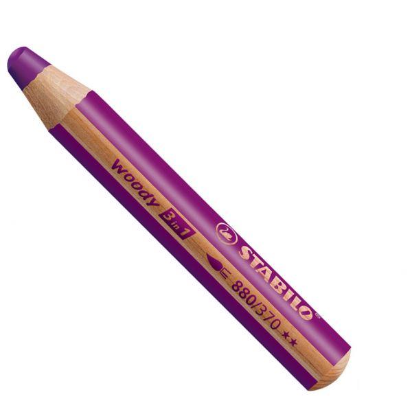 Buntstifte für Kleinkinder: Stabilo woody erika - 370