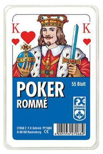 Poker, Spielkarten franz. Bild