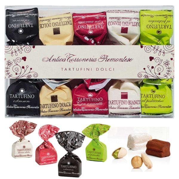 Schokoladentrüffel: 10 Tartufini dolci misti, Anticia Torroneria Piemontese