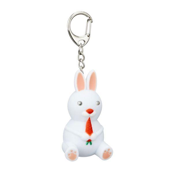 Schlüsselanhänger Hase mit Licht