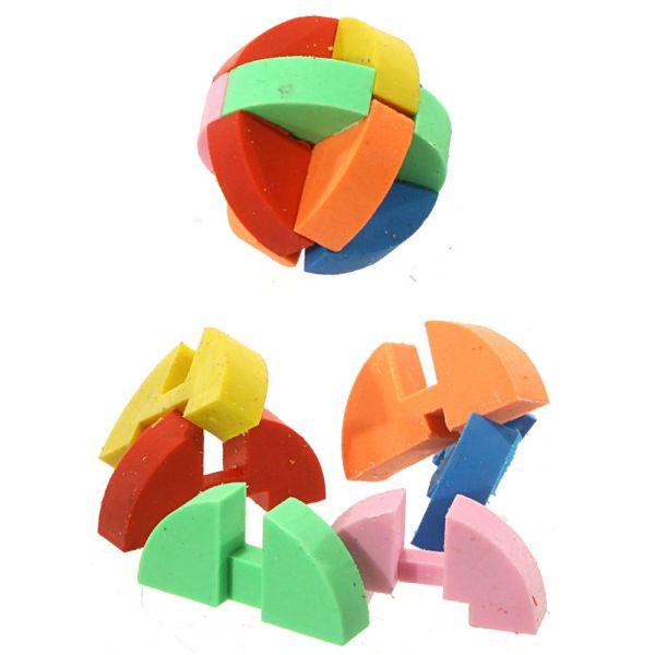 Radiergummi Puzzle Ball, 2er Set