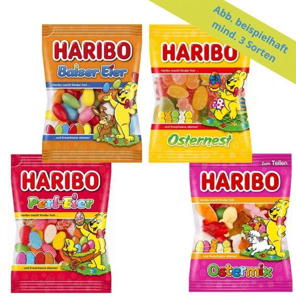 Oster-Mix, Haribo, mind. 750 g