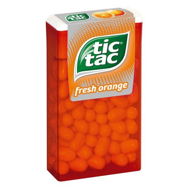 Orange tic tac, 49 g