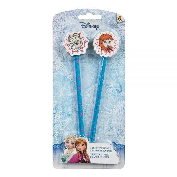 Eiskönigin Bleistifte mit Radier-Topper