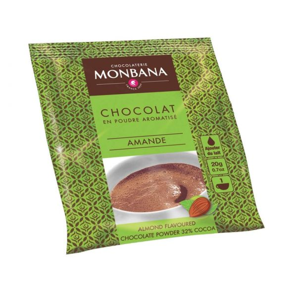 Monbana Trinkschokolade Almonds