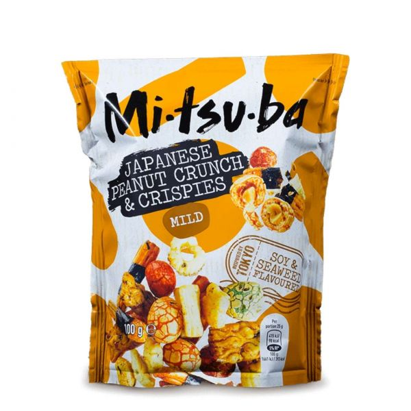Mitsuba Reiscracker: Japanese Peanut Crunch