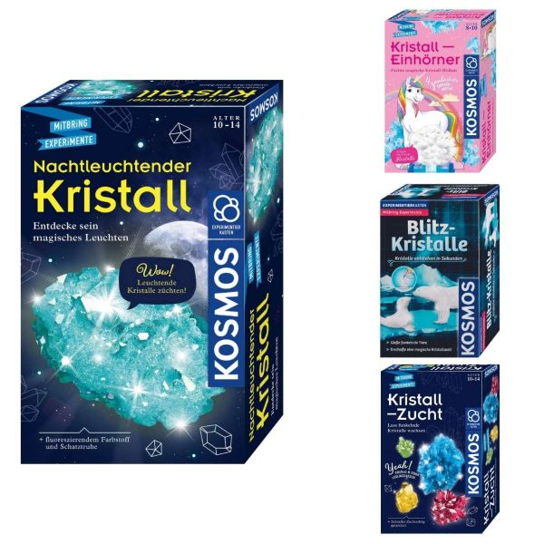 Kosmos Kristalle, verschiedene Ausführungen