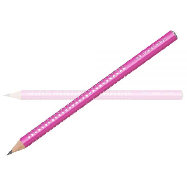 Faber-Castell Sparkle Bleistift Jumbo, pink