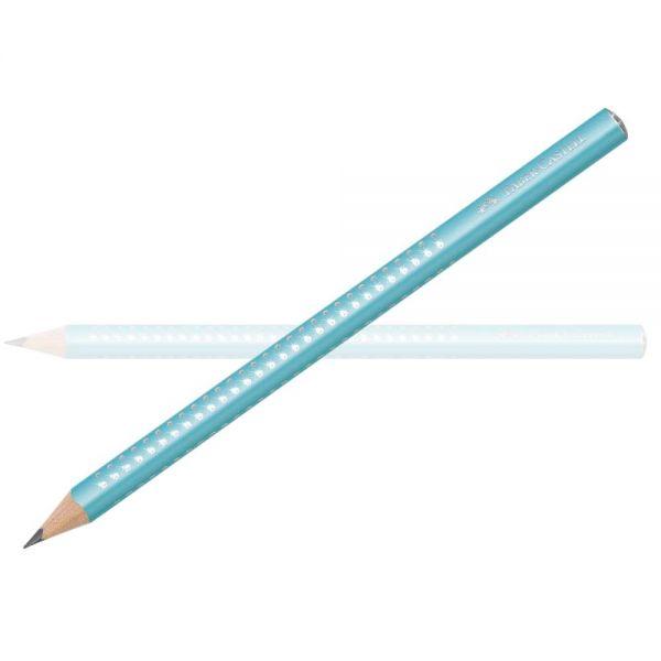Faber-Castell Sparkle Bleistift Jumbo, türkis