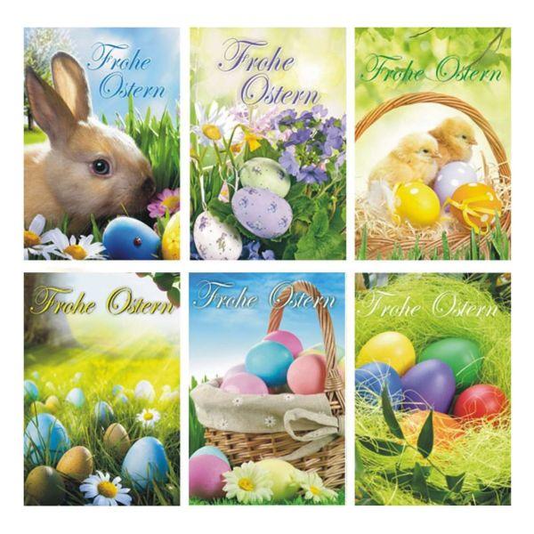 Grußkarte Ostern, auf Wunsch mit individuellem Anschreiben