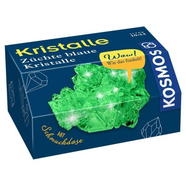 Kristalle züchten, Kosmos, grün