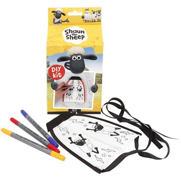 Kite mit Ausmalstiften, Shaun