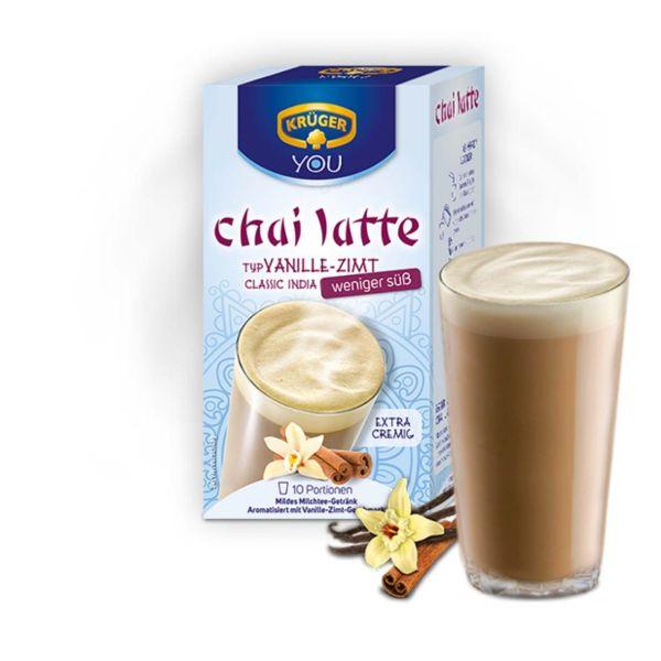 Chai-Latte Krüger, Vanille-Zimt weniger süß, 1 Beutel