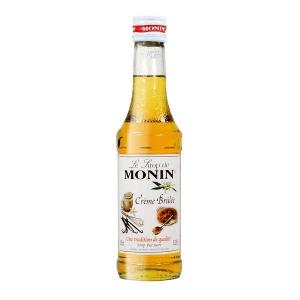 Monin Sirup Crème Brulée, 250 ml