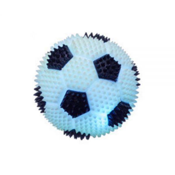 LED Gummiball Fußball