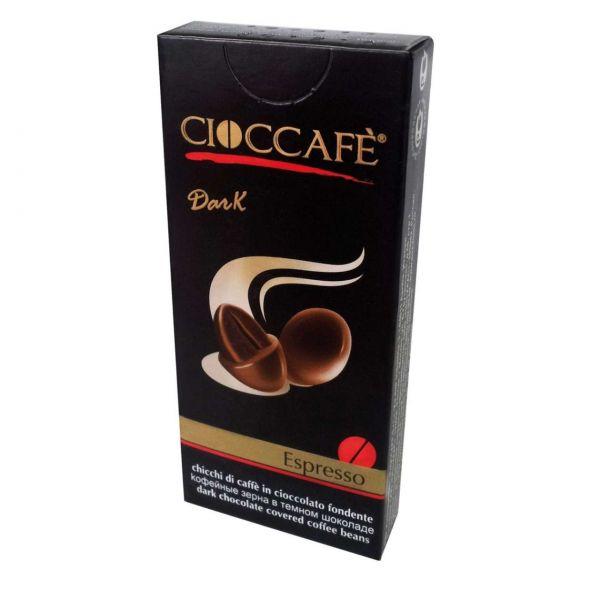 Cioccafè Kaffeebohnen, Dunkle Schokolade