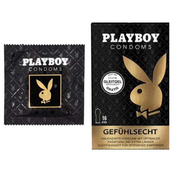 Playboy Kondome, gefühlsecht, 1 Stück