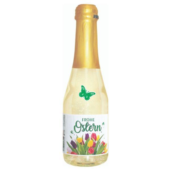 Piccolo Frohe Ostern, bunte Tulpen, 8 %, 200 ml