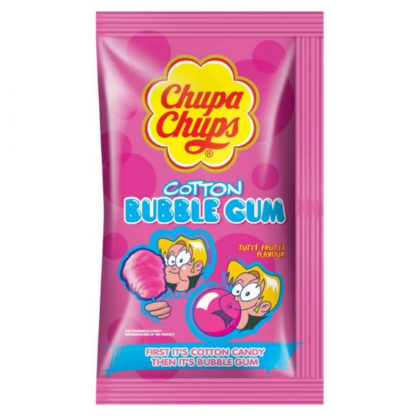 Chupa Chups Kaugummi-Watte Tutti-Frutti